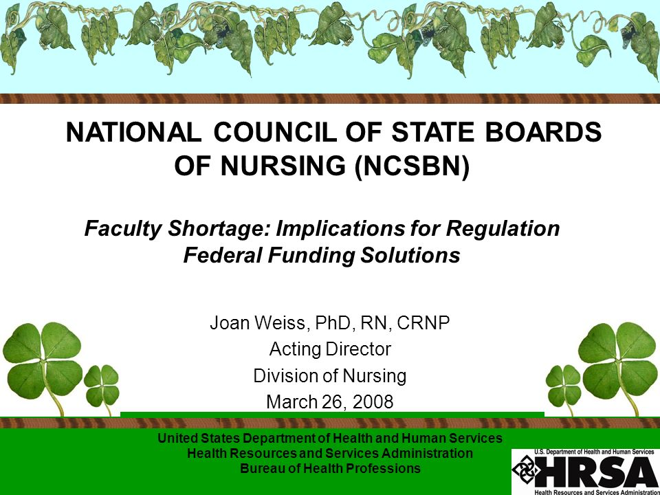 ELIGIBLE STUDENTS Eligible Student must be: Enrolled full-time or part-time (within the last 12 months of study prior to graduation) In an advanced education nursing program for preparation as a: nurse practitioner, nurse-midwife, nurse anesthetist, clinical nurse specialist, public health nurse, nurse administrator, nurse educator, * or other nurse specialty determined by the Secretary to require advanced education
