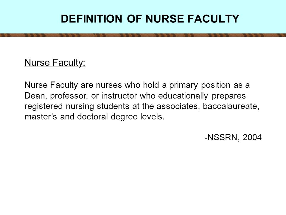NSSRN 2004: FACULTY RNs IN BS OR HIGHER PROGRAMS BY SATISFACTION WITH PRINCIPAL NURSING POSITION