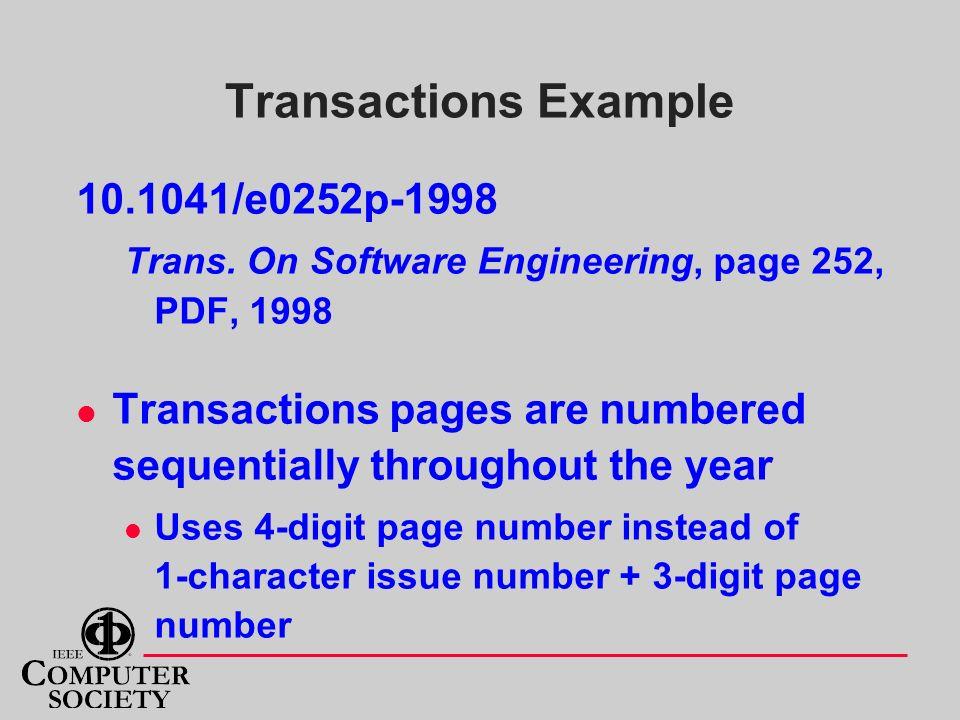 Transactions Example 10.1041/e0252p-1998 Trans.