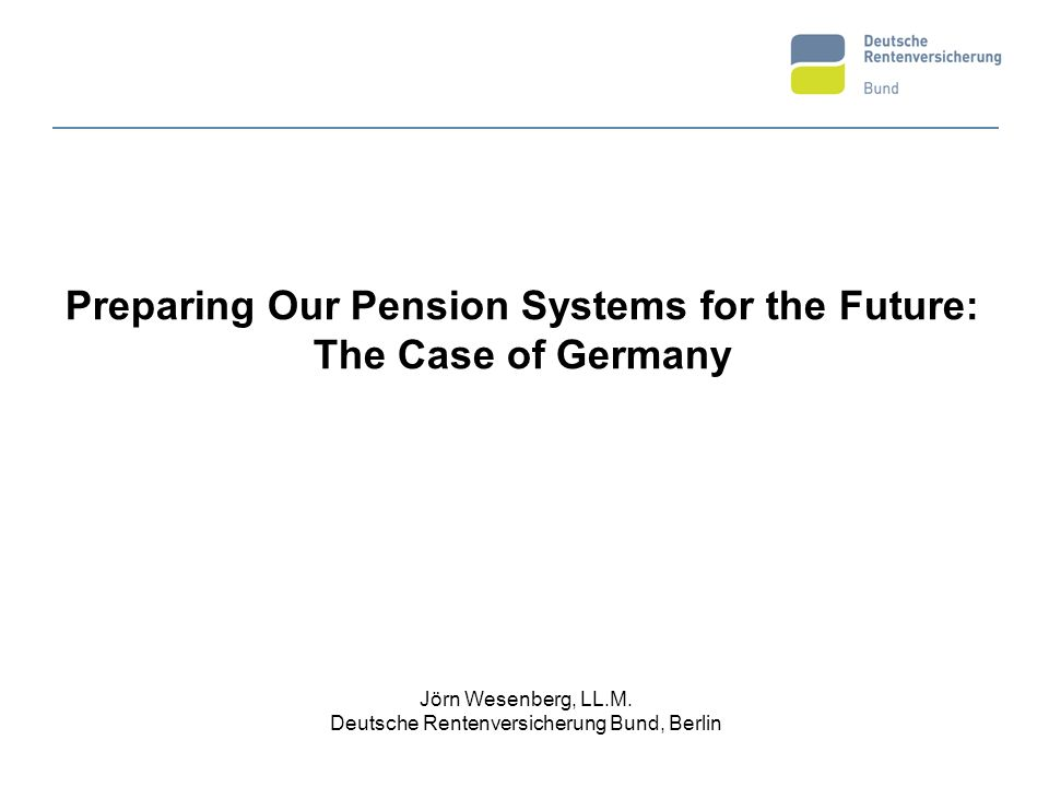 2 I.Structure of the German Statutory Pension System (GSP) II.Demographic challenges for GSP III.The main reforms undertaken so far 1992/2001/2004/2007 IV.Effects and results of the German reform path Financial sustainability Adequacy of pensions V.Conclusion and outlook O u t l i n e