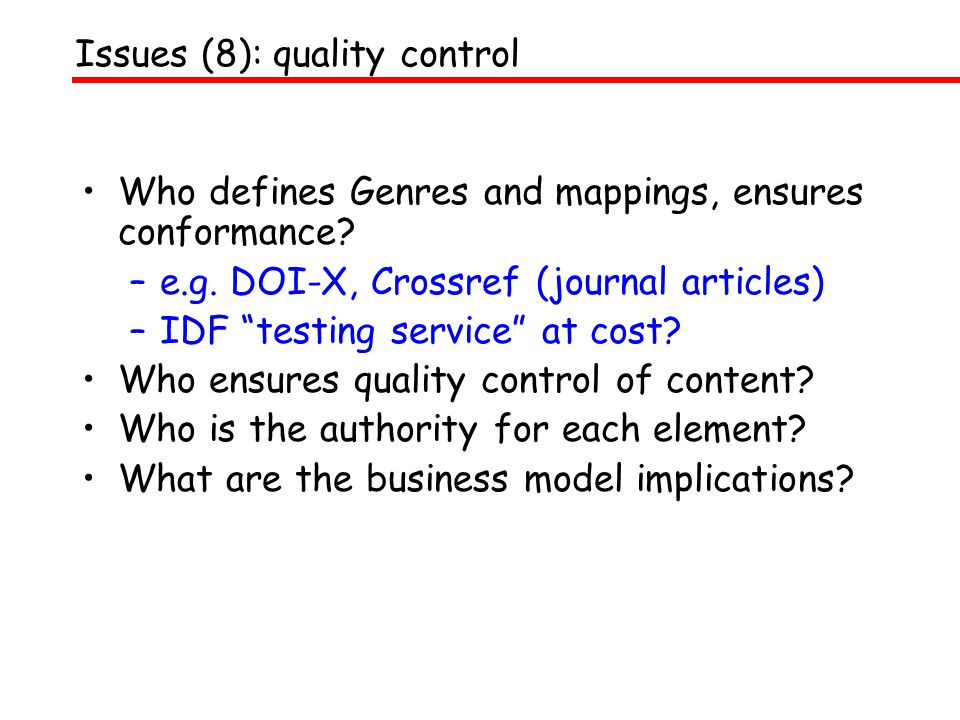 DOI Registration Agencies –based on similar models –e.g.