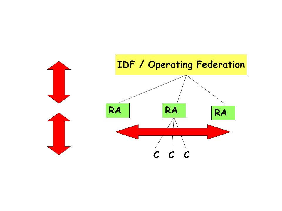 IDF / Operating Federation RA C CC