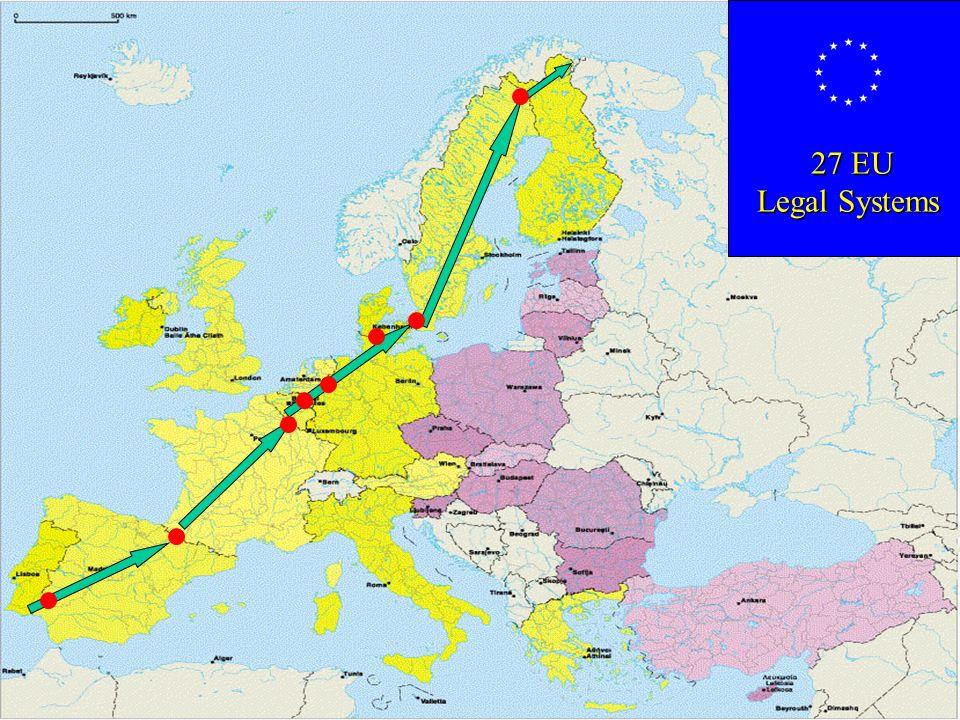27 EU Legal Systems 27 EU Legal Systems