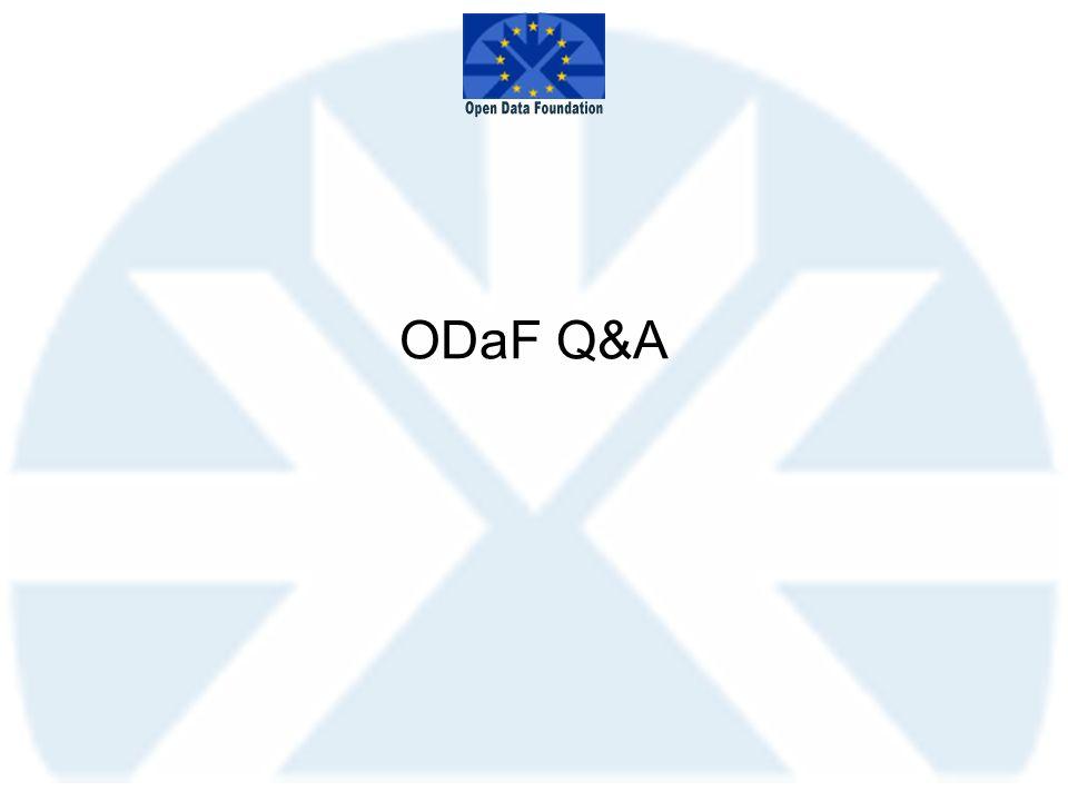 ODaF Q&A