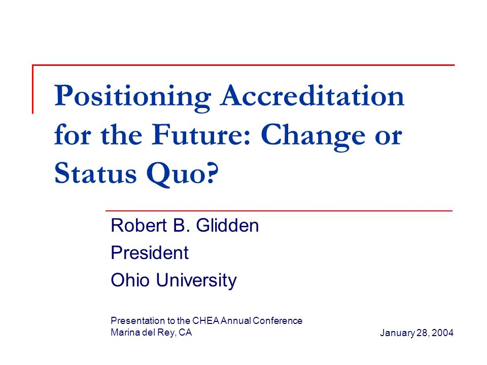 Summary and Suggestions Preserve and advocate the strengths of the present system of higher education accreditation Strengthen the process: Intensify the review of general education programs by expanding this function of regional accreditation Continue to strive for better approaches to the assessment of learning outcomes, including in general education
