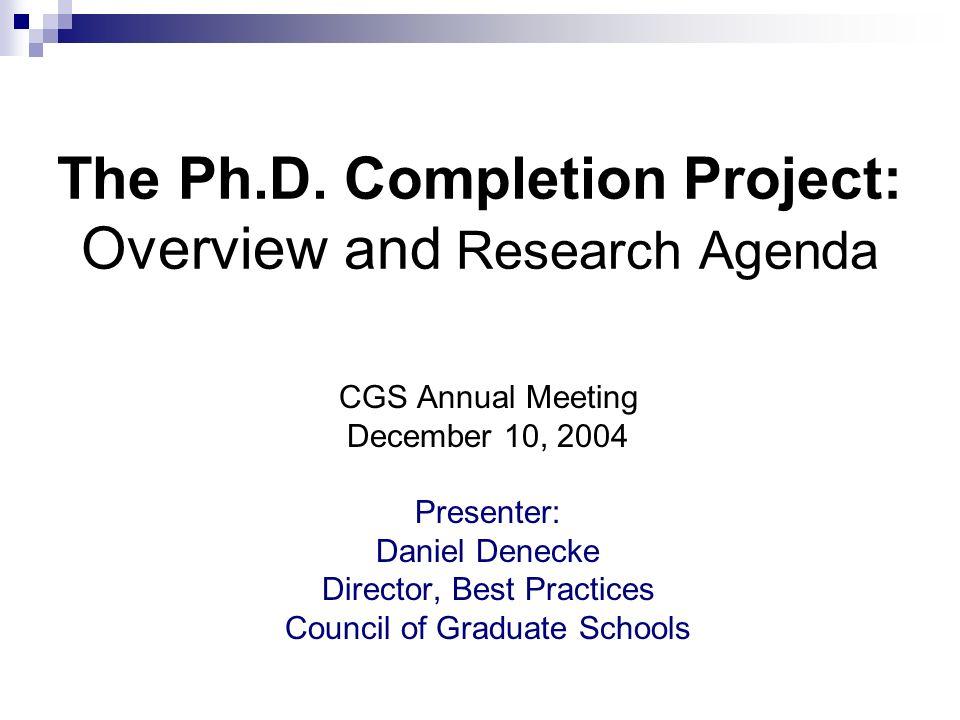 CGS Ph.D.