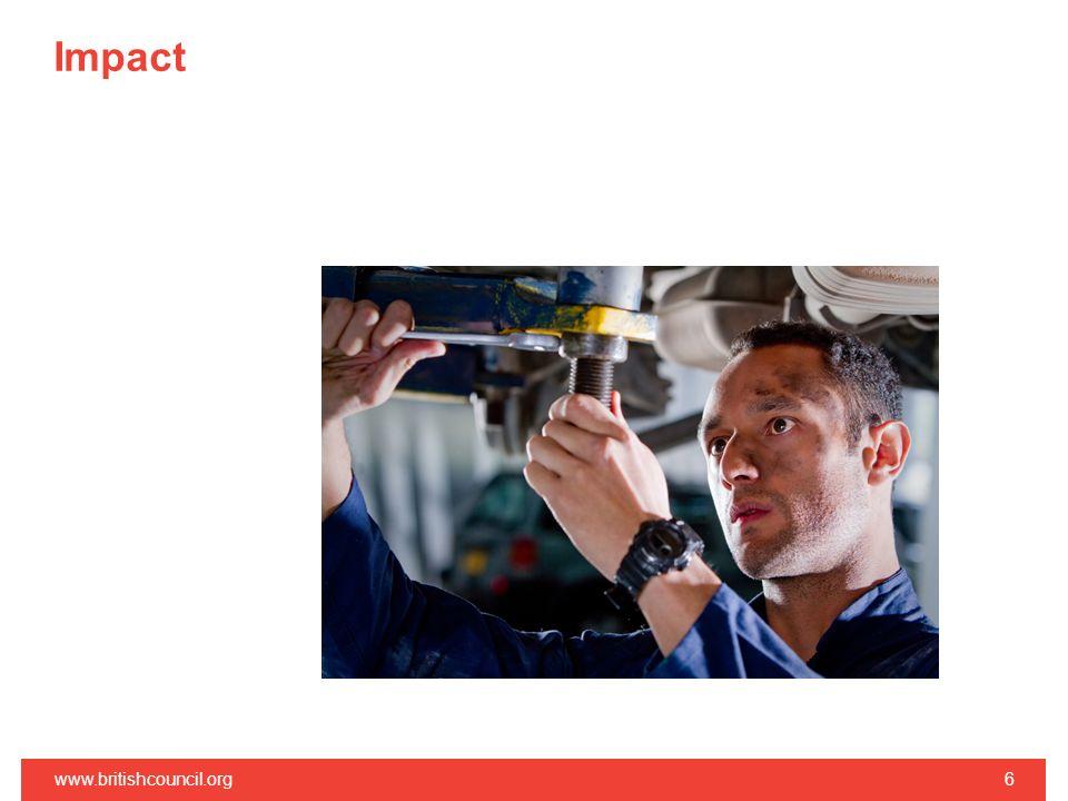 Impact www.britishcouncil.org6
