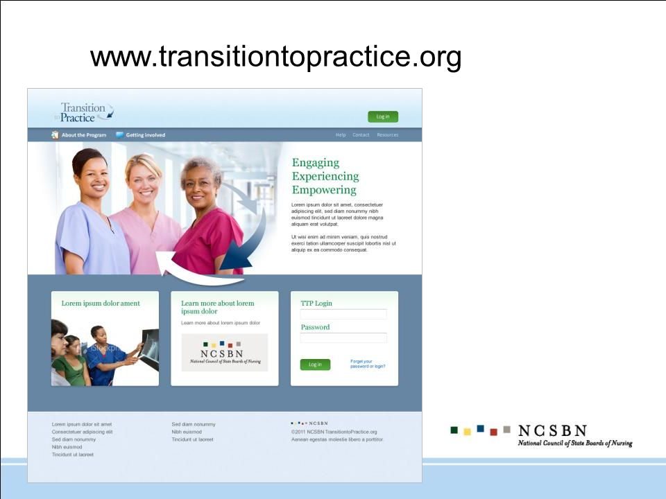 www.transitiontopractice.org