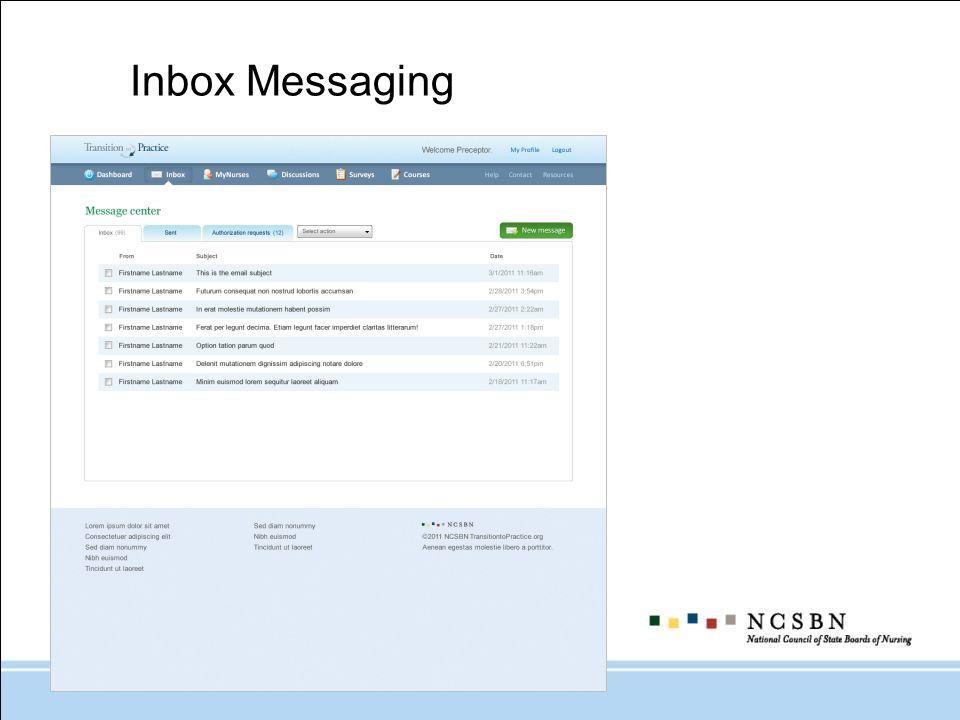 Inbox Messaging