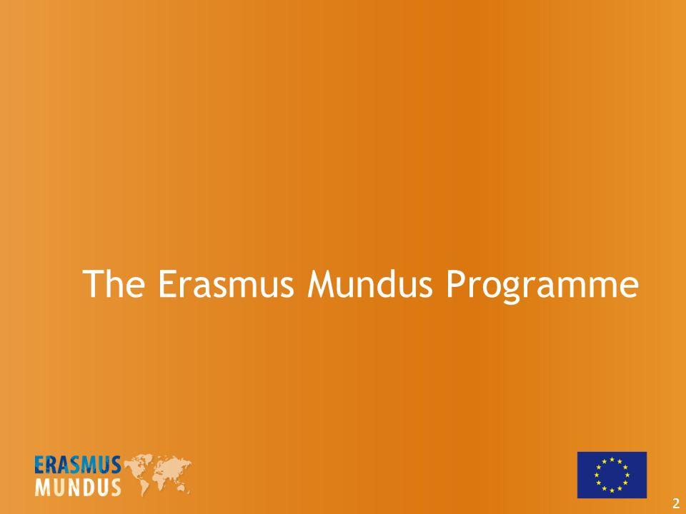 The Erasmus Mundus Programme 2