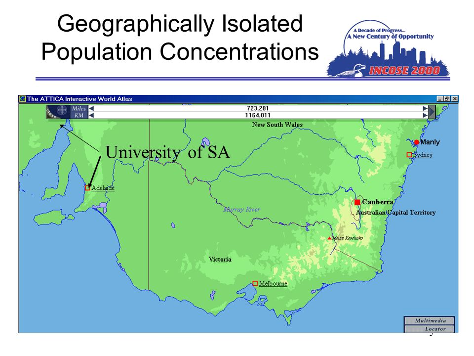 6 Australia Geographically Redefined for INCOSE 2001