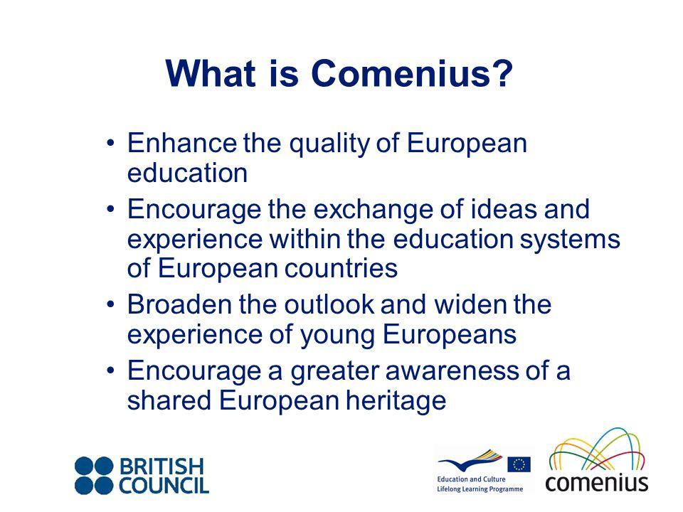 Contact E: comenius@britishcouncil.org comenius@britishcouncil.org T: 0161 957 7755