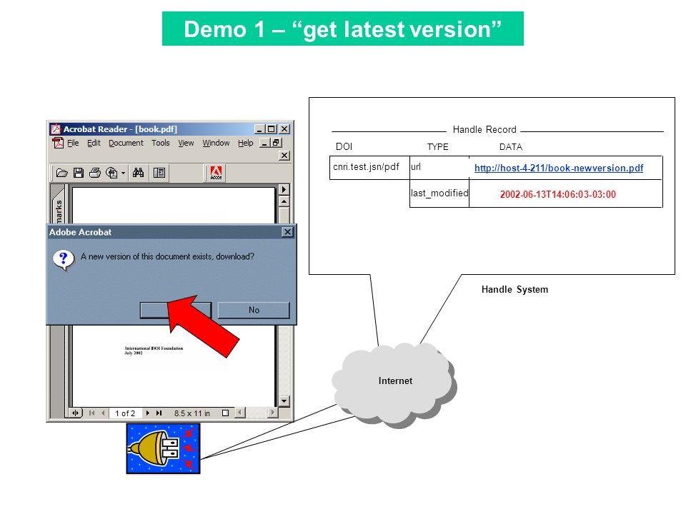 Tool Bar cnri.test.jsn/pdf TYPEDATA http://host-4-211/book-newversion.pdfurl last_modified2002-06-13T14:06:03-03:00 DOI Handle Record 2002-06-13T14:06