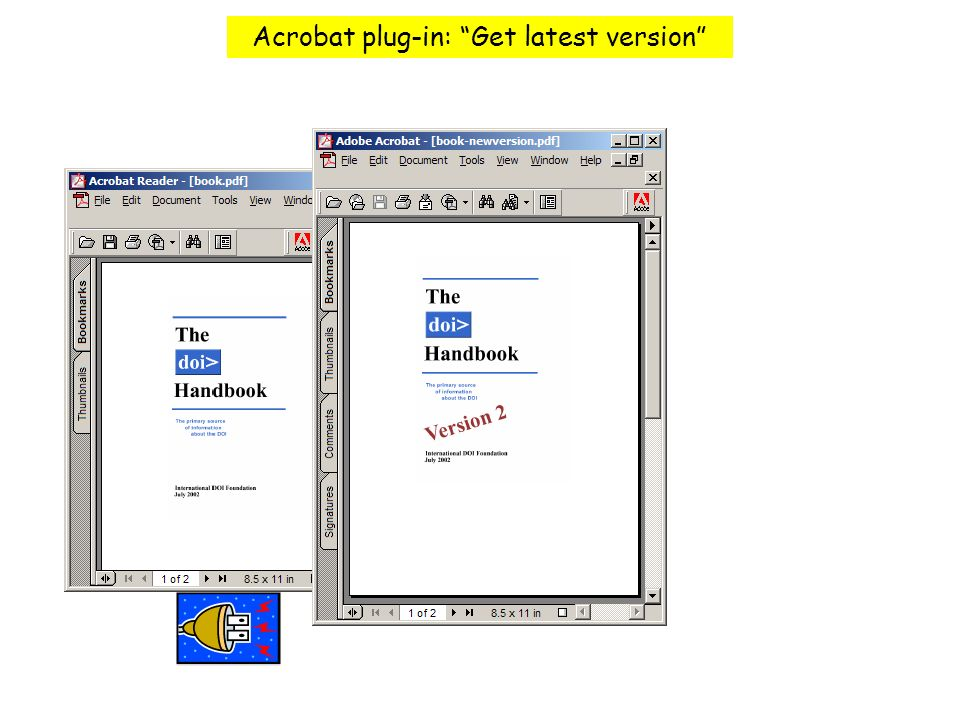 Tool Bar Acrobat plug-in: Get latest version