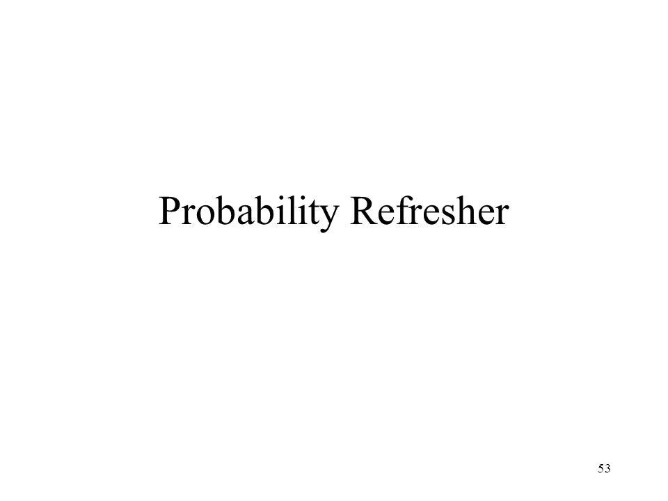 53 Probability Refresher
