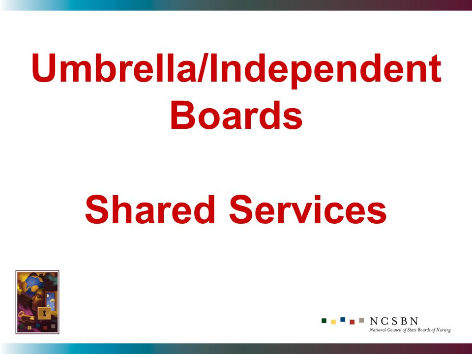 Umbrella/Independent Boards Shared Services