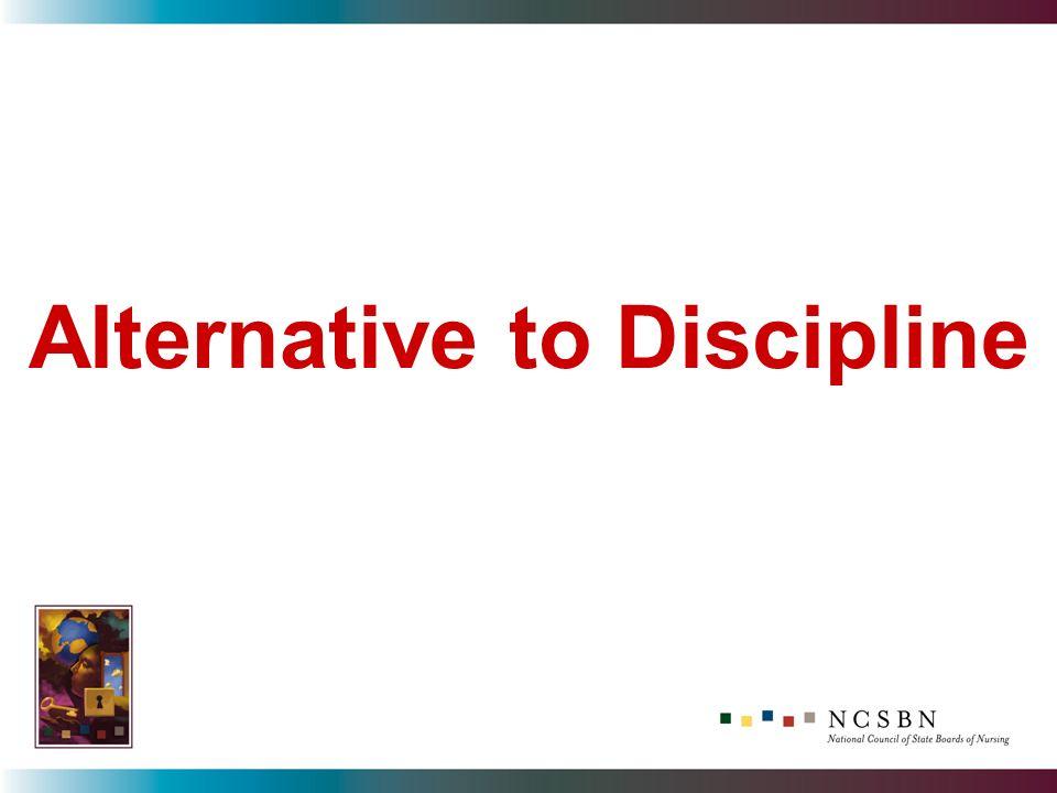 Alternative to Discipline