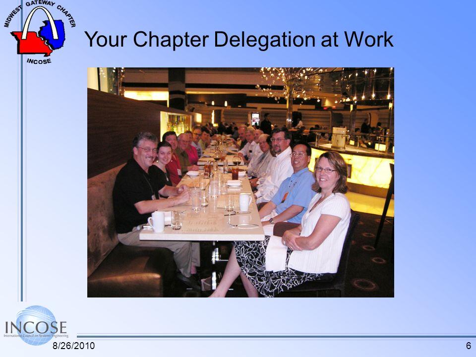 Your Chapter Delegation at Work 68/26/2010