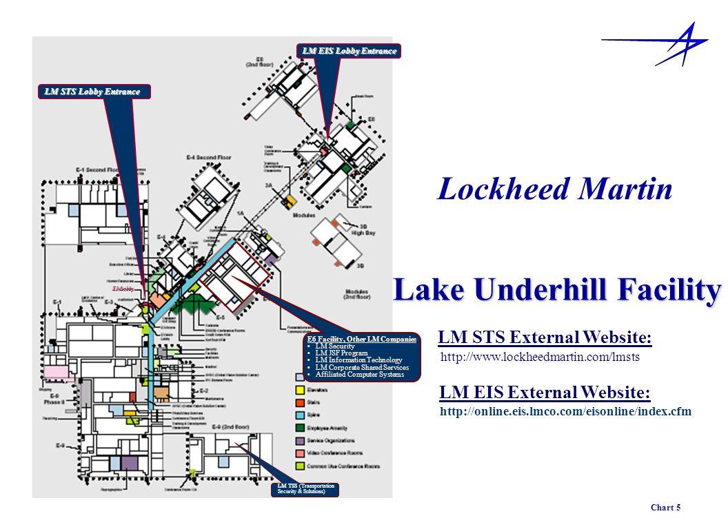 LM STS Lobby Entrance E3 Lobby LM EIS Lobby Entrance Lockheed Martin Lake Underhill Facility http://www.lockheedmartin.com/lmsts LM STS External Websi