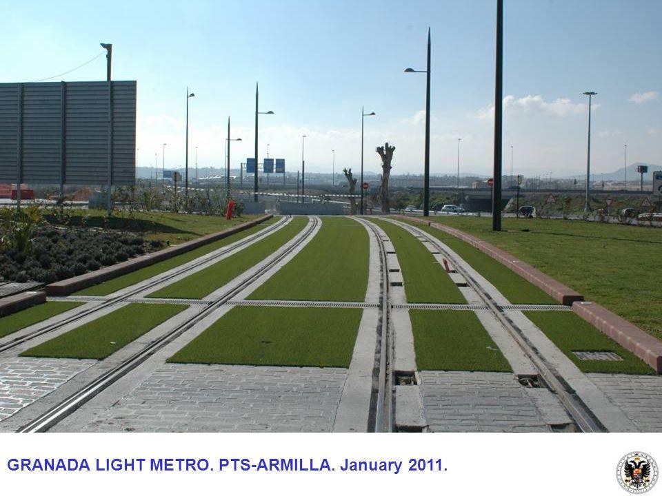 GRANADA LIGHT METRO. PTS-ARMILLA. January 2011.