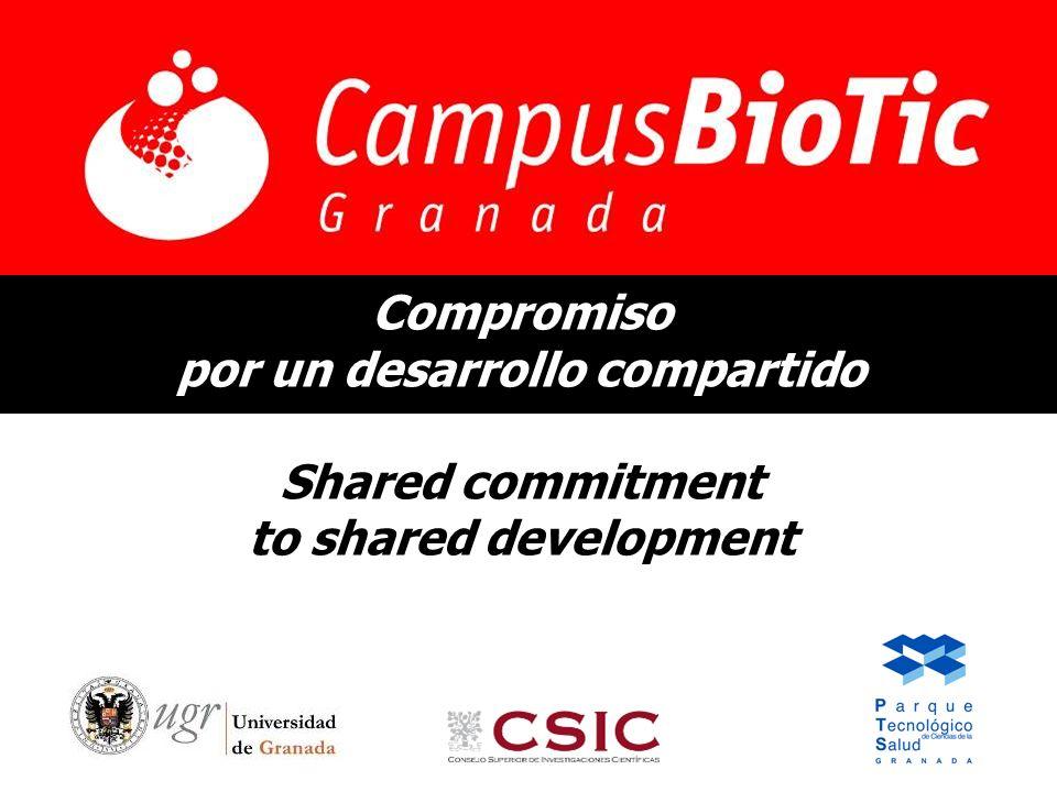 Compromiso por un desarrollo compartido Shared commitment to shared development