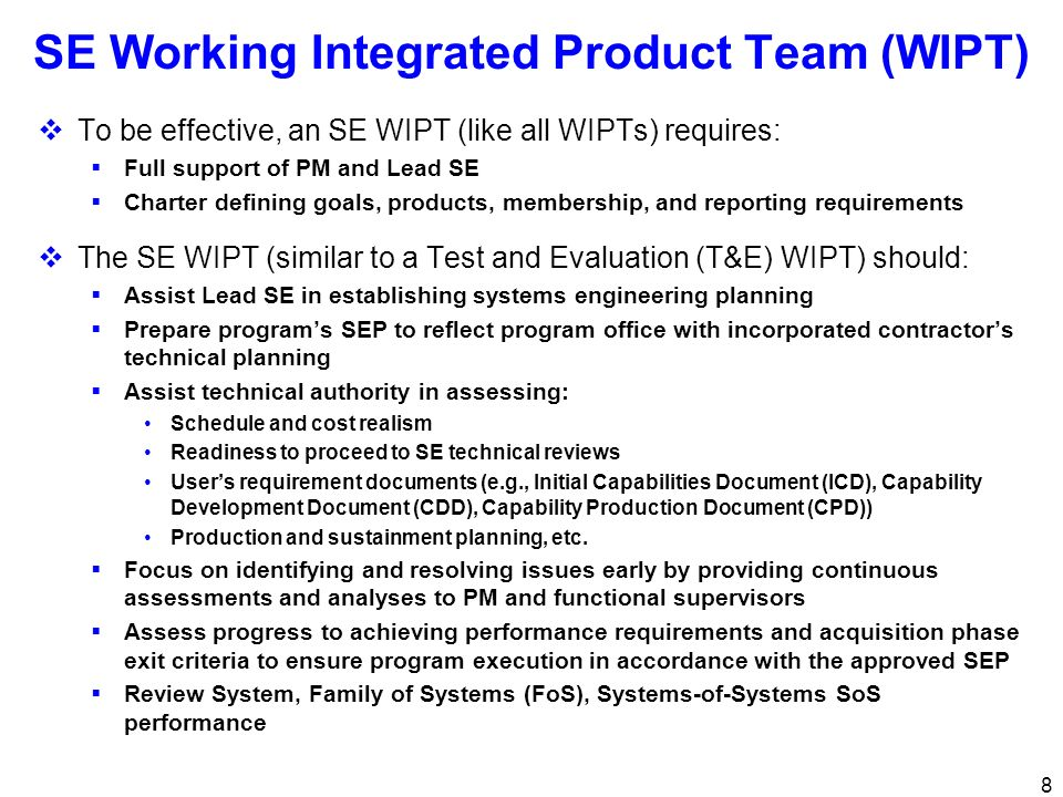 19 Requirements SEPs should include: KPPs Actual KPPs from draft or approved ICD, CDD, or CPD with rationale for thresholds and objectives MS C and FRP SEPs - Progress made towards KPPs Statutory and Regulatory Start with DoDI 5000.02 Enclosure 4, then tailor to program Planned accomplishment/approval date and status, program responsibility, and approval authority A plan to address Critical Program Information (Program Protection Plan (PPP)) (New from DoDI 5000.02)