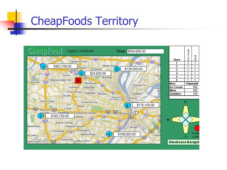 CheapFoods Territory