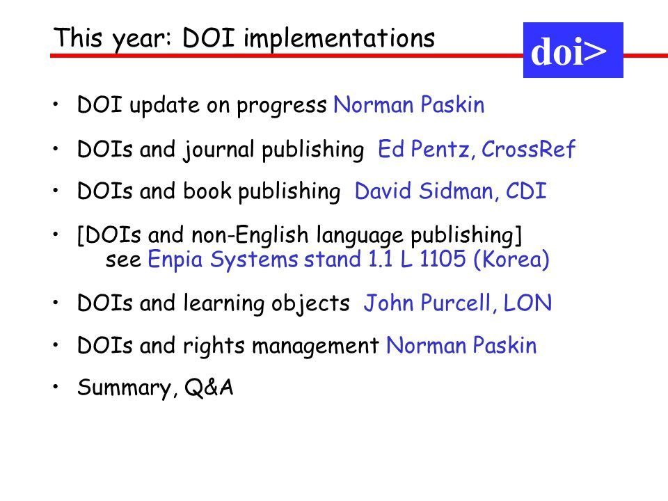 4 million DOIs 8 million resolutions last month Summary: what can be happy about? doi>