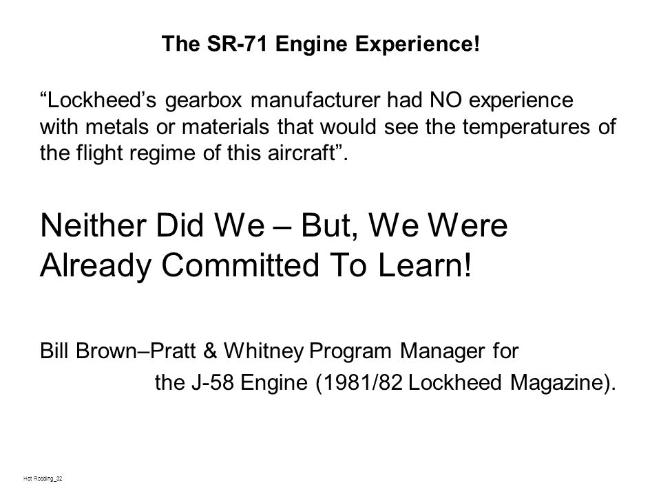 L Hot Rodding_32 The SR-71 Engine Experience.