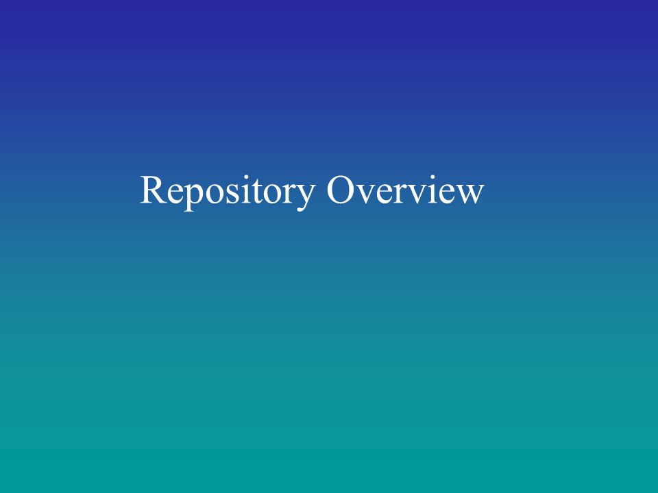 Repository Overview