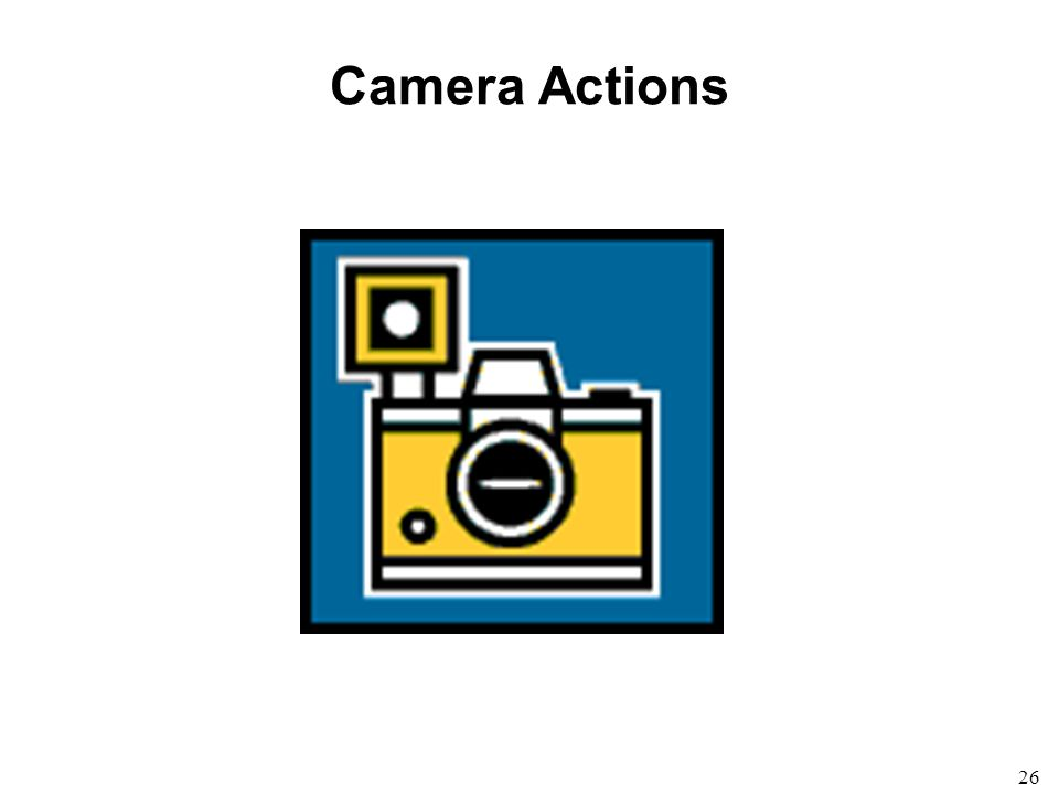 26 Camera Actions
