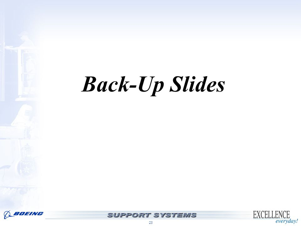 25 Back-Up Slides
