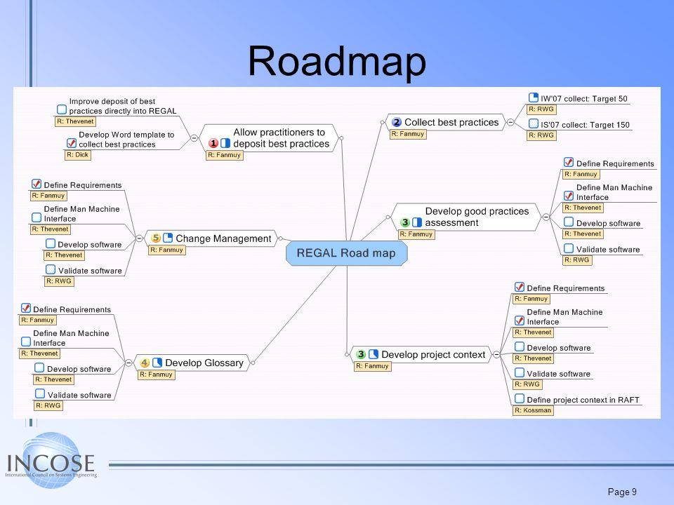 Page 9 Roadmap