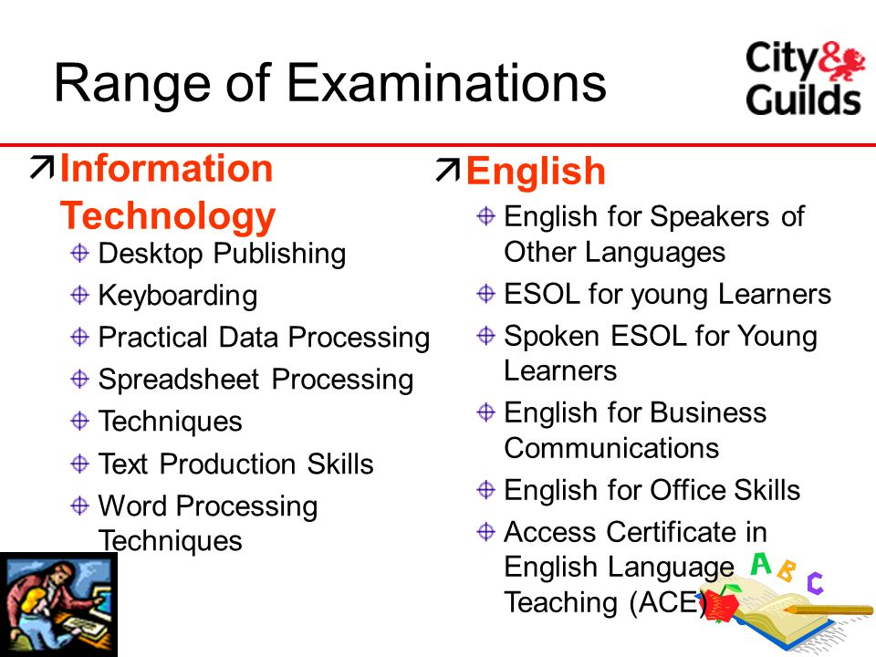 17 Desktop Publishing Keyboarding Practical Data Processing Spreadsheet Processing Techniques Text Production Skills Word Processing Techniques Range