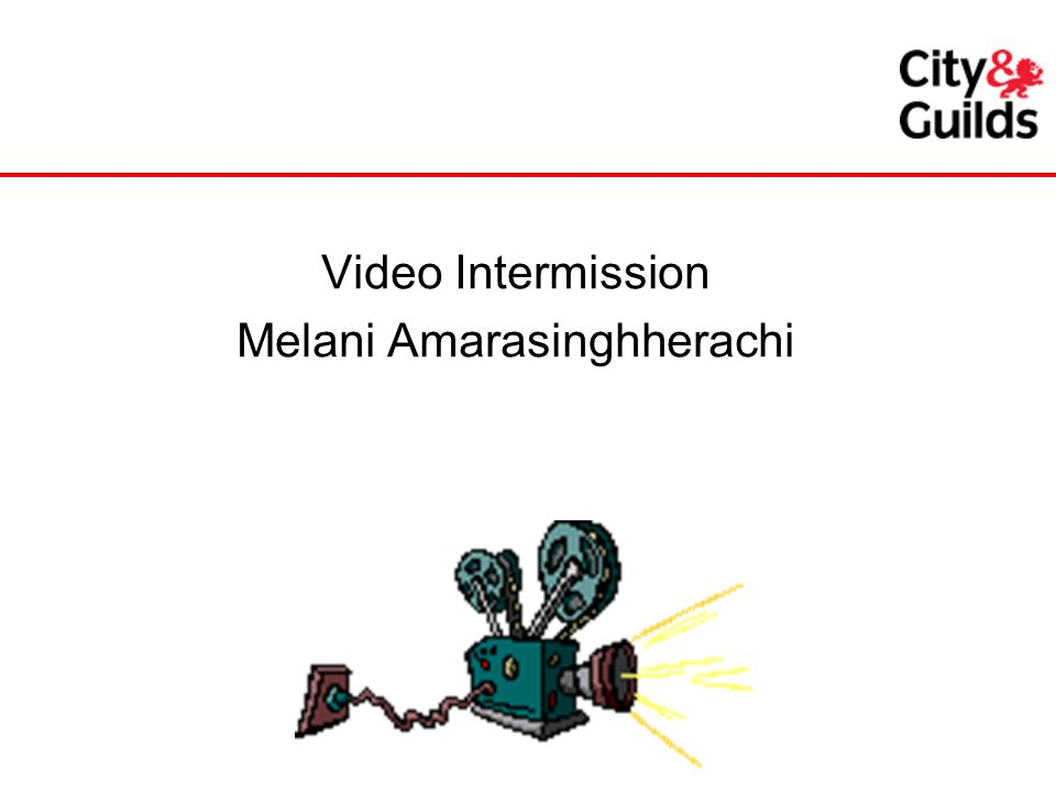 Video Intermission Melani Amarasinghherachi