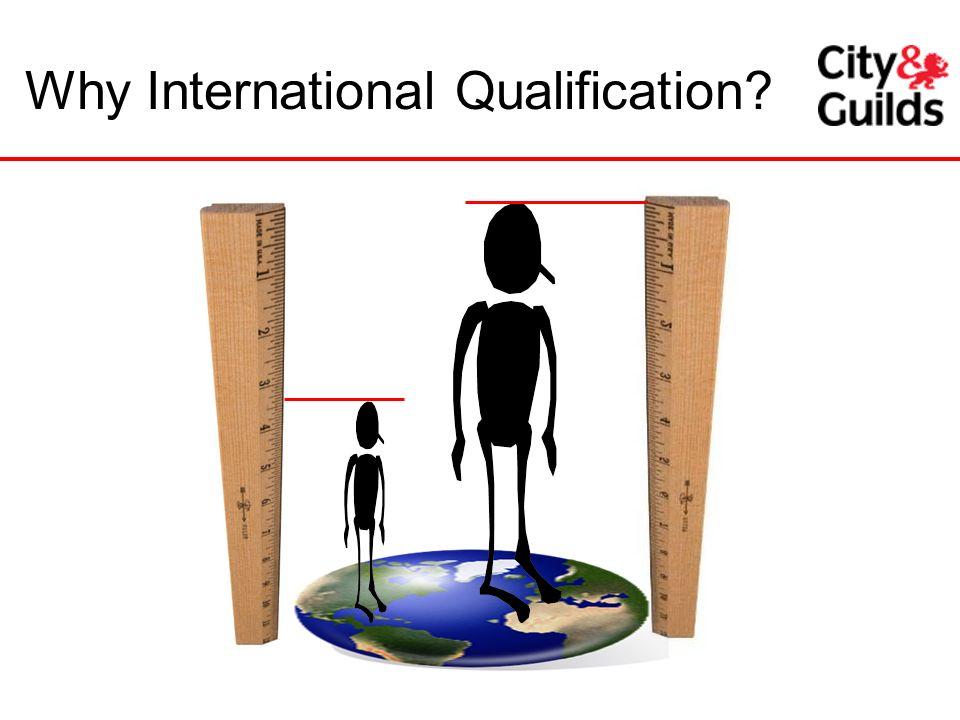 Why International Qualification?