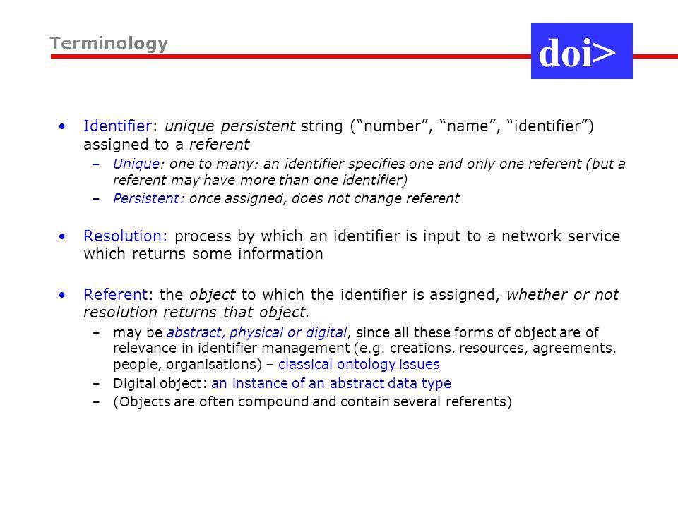 Basic Internet resolution system: identify objects, not servers.
