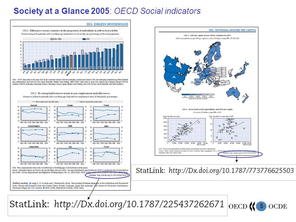 5 Society at a Glance 2005: OECD Social indicators