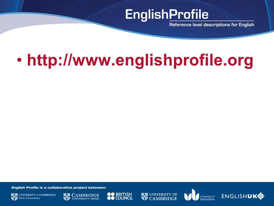 http://www.englishprofile.org
