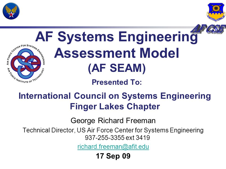 AFSEAM Process