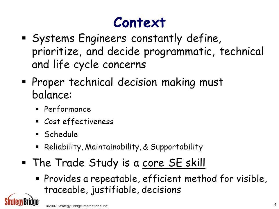 ©2007 Strategy Bridge International Inc.