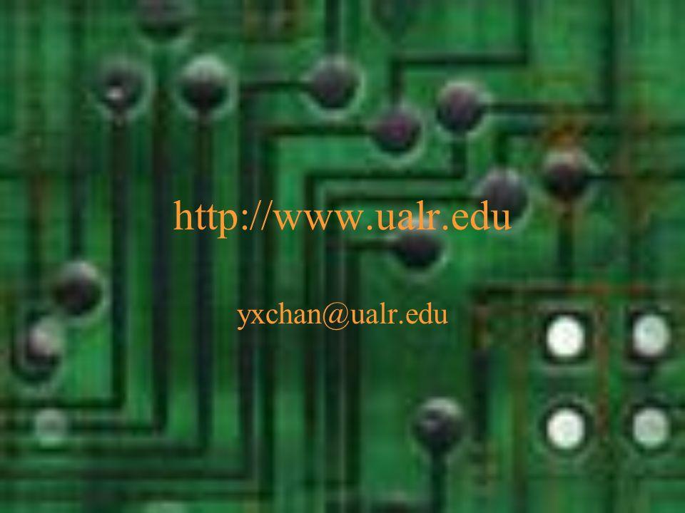 http://www.ualr.edu yxchan@ualr.edu