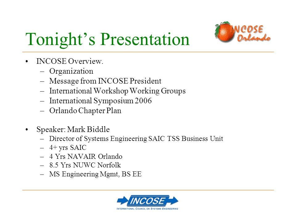 SYSTEMS ARCHITECTURE & DESIGN IMPLEMENTATION PROCESS PRODUCT SYSTEMS ENGINEERING COVERS DESIGN AND PROCESS - BUT MUST FOCUS ON THE END PRODUCT PRESENTATION TO THE MEMBERSHIP BY HEINZ STOEWER, INCOSE PRESIDENT, JAN 2004 – JAN 2006, INTERNATIONAL WORKSHOP 2004