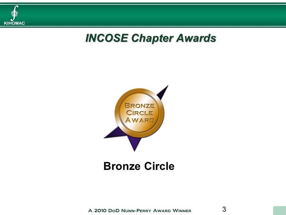 3 INCOSE Chapter Awards Bronze Circle