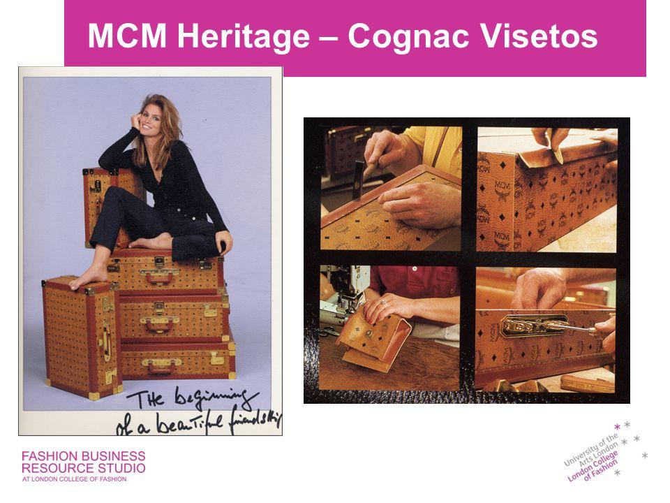 MCM Heritage – Cognac Visetos
