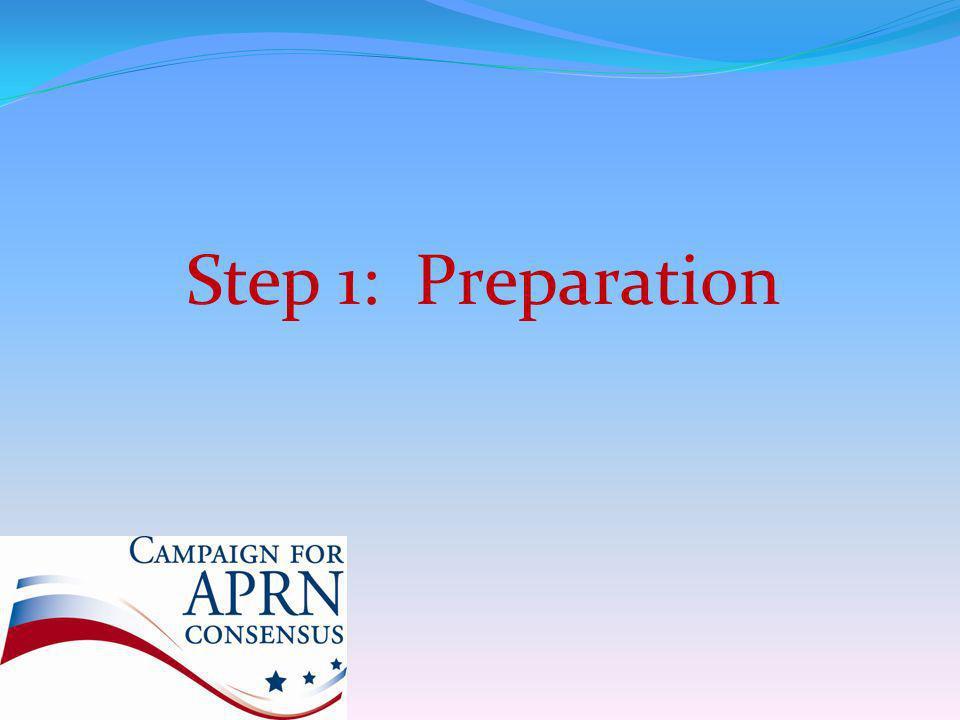 Step 1: Preparation