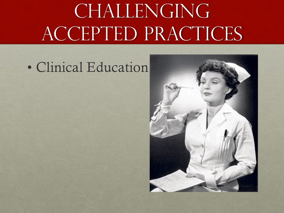 Clinical EducationClinical Education