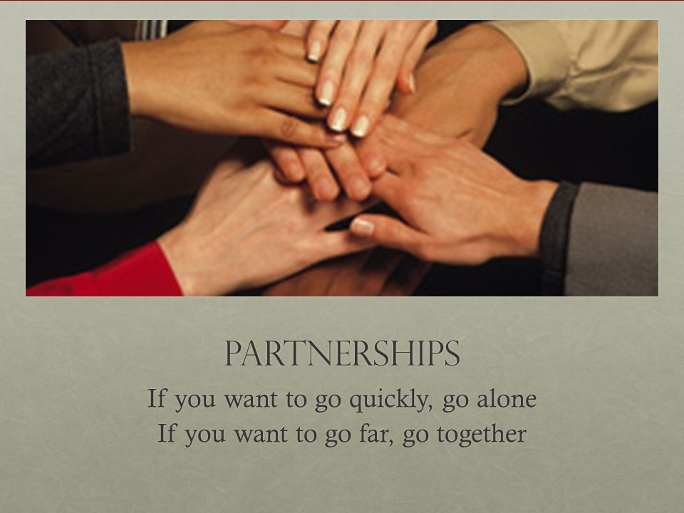 Your Turn What partnerships/alliances do you need to form?What partnerships/alliances do you need to form.