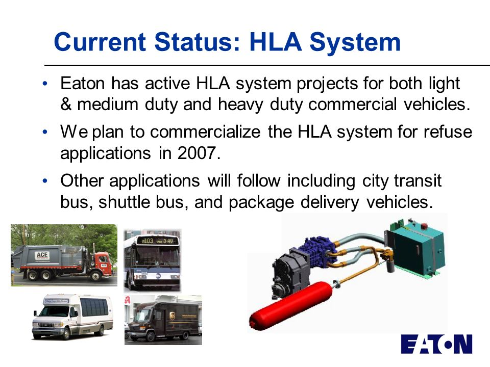 Why Eaton? World-class expertise in noise, vibration, and harshness (NVH) reduction for on- and off- highway applications. Tier 1 supplier to the truc