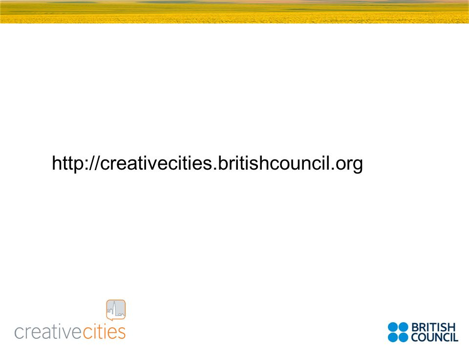 http://creativecities.britishcouncil.org